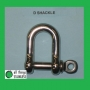 Stainless D Shackles
