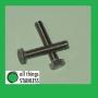 304: M8x12mm Hex Head Set Screw - Box of 100