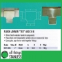 "316: 2"" Flush Joiner TEE Square Mirror"
