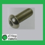304: Button Head Socket Screw M6x25mm x 100
