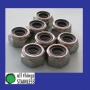316: M5 Nylon Insert Nuts. Box of 100