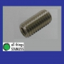 316: M6x6mm Hexagon Socket Set Screw. Box of 100