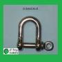 316: M6 D-Shackle