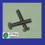 316: M8x45mm Hex Head Set Screw - Box of 100