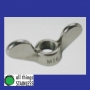 316: M10 Wing Nuts. Box of 100