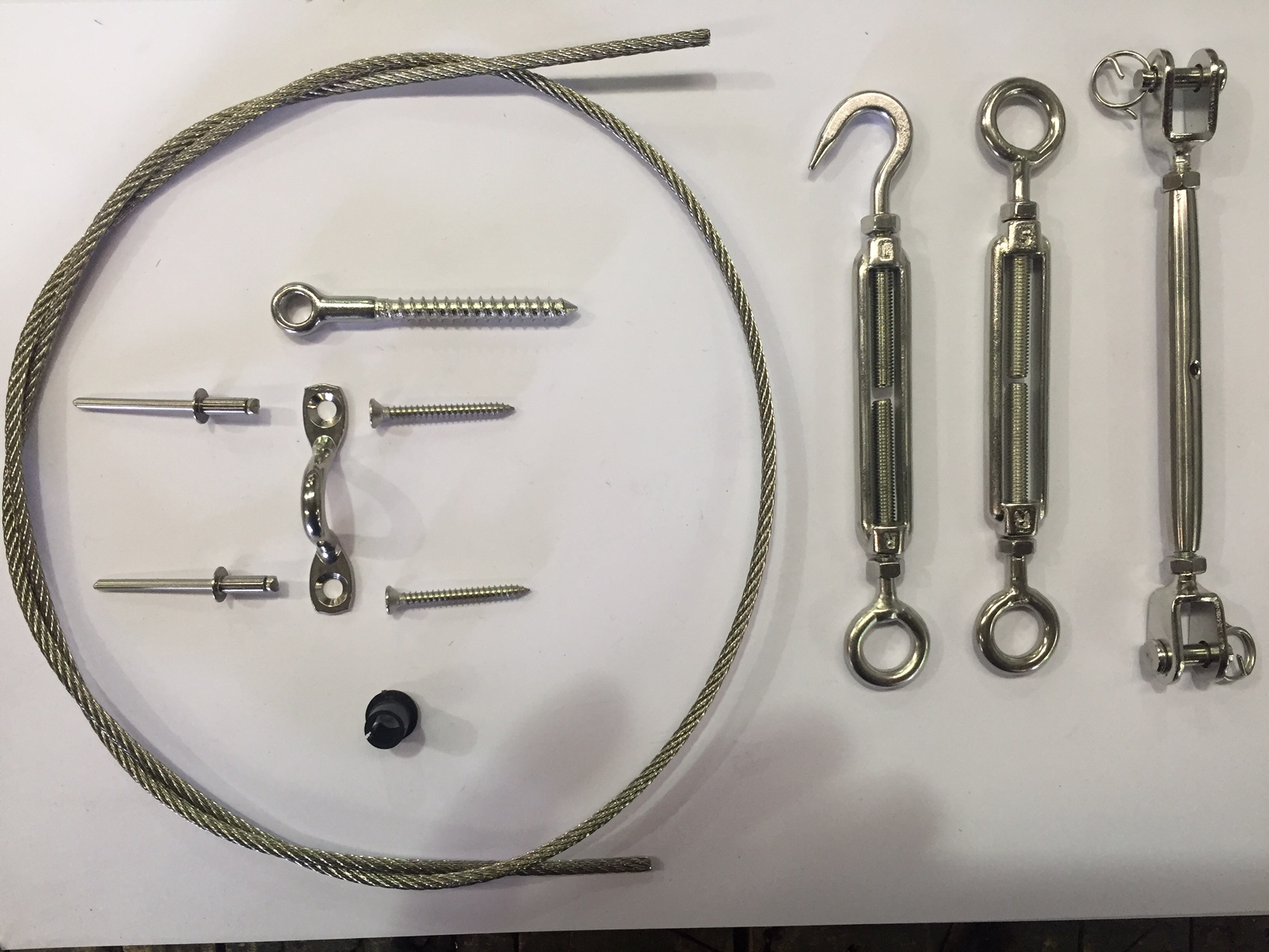 Hand Swaged DIY Balustrading Kits for Stainless Wire - All Things ...