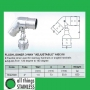"316: 2"" Flush Joiner 3-Way Adjustable"