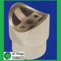 "316: 1"" Tube 2"" Radius Perpendicular Joiner ""Flush Fitting"