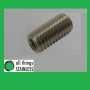 304: M8x25mm Hexagon Socket Set Screw. Box of 100