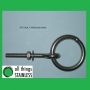 304: M6x60mm Eye Bolt with Ring