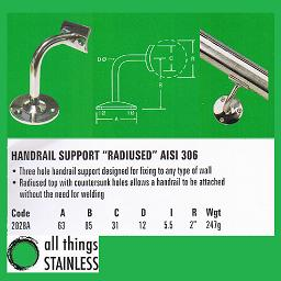 316: Handrail Sup&nbsp;             <a href=