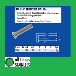 M6 Hex Head Tensioner