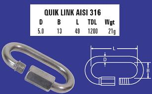5mm Quick Link