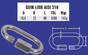 10mm Quick Link